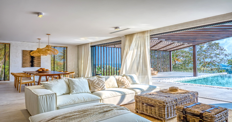Sumptuous 3-4 Bed Sea-view Pool Villas in Chaweng-2