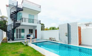 Modern 3 Bedroom Private Pool Villas in Bophut