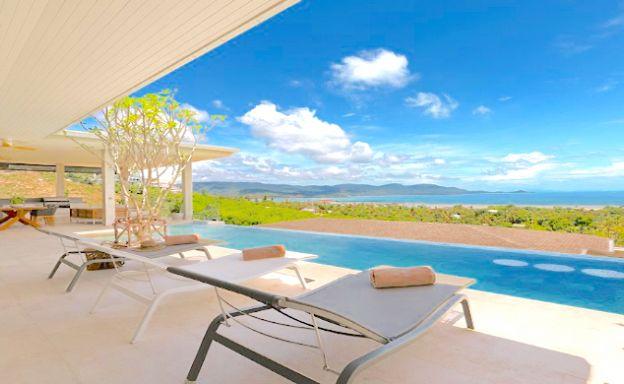 Spectacular 4 Bed Sea View Villa in Plai Laem