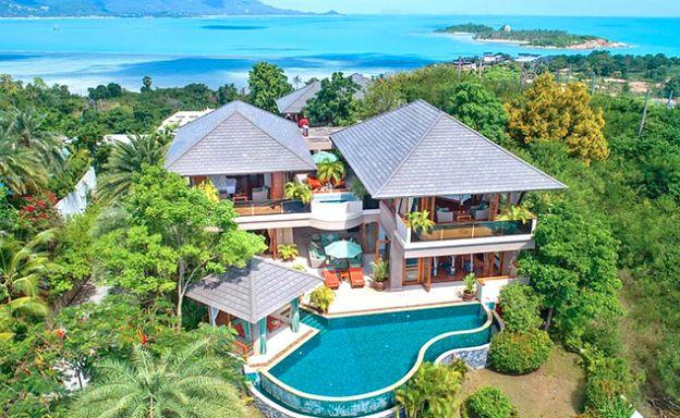 Spectacular 4 Bed Tropical Sea View Villa in Plai Laem