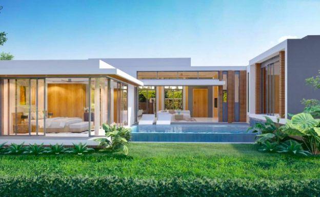 New Bargain 2-3 Bedroom Pool Villas In Bophut