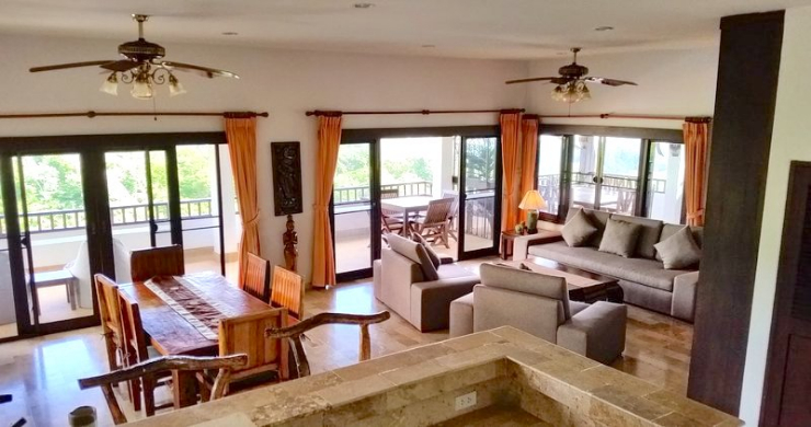 Tropical 4 Bedroom Sea-view Villa In Chaweng Hills-2