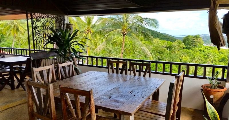 Tropical 4 Bedroom Sea-view Villa In Chaweng Hills-9