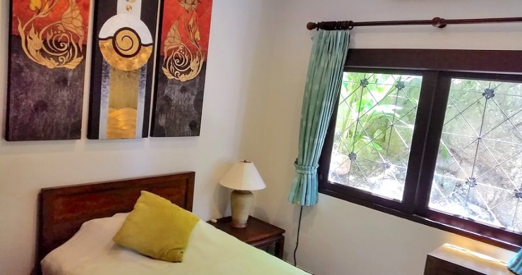 Tropical 4 Bedroom Sea-view Villa In Chaweng Hills-11
