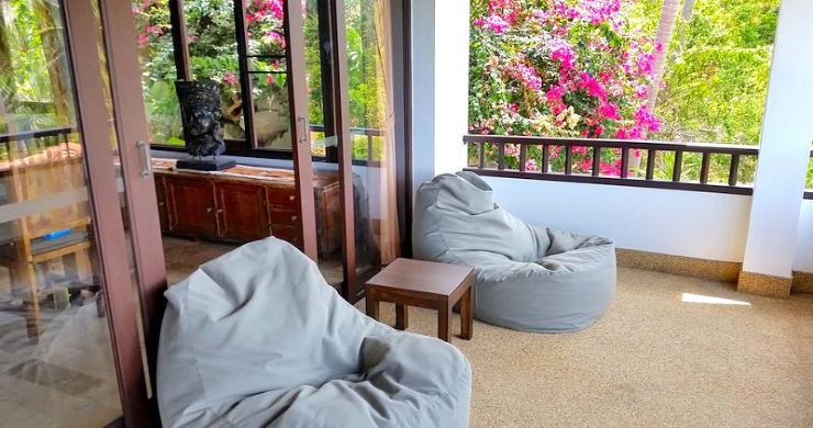 Tropical 4 Bedroom Sea-view Villa In Chaweng Hills-12