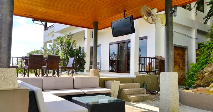 Tropical 4 Bedroom Sea-view Villa In Chaweng Hills-7