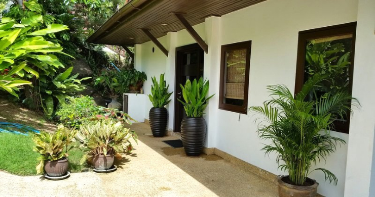 Tropical 4 Bedroom Sea-view Villa In Chaweng Hills-15