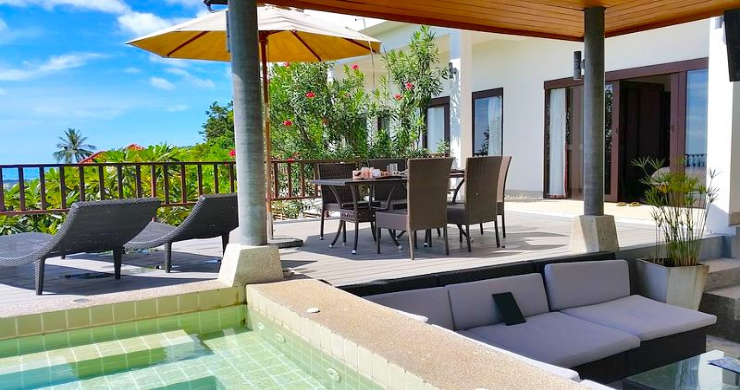 Tropical 4 Bedroom Sea-view Villa In Chaweng Hills-5