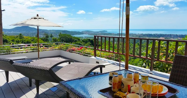 Tropical 4 Bedroom Sea-view Villa In Chaweng Hills-3