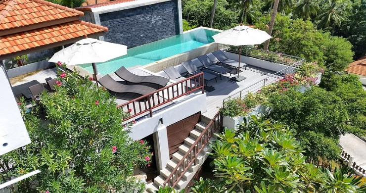 Tropical 4 Bedroom Sea-view Villa In Chaweng Hills-1