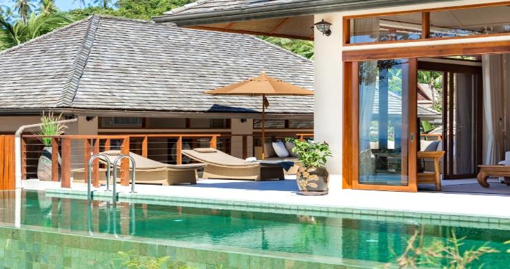 Thai Style 4 Bed Modern Sea View Villa in Haad Salad-18