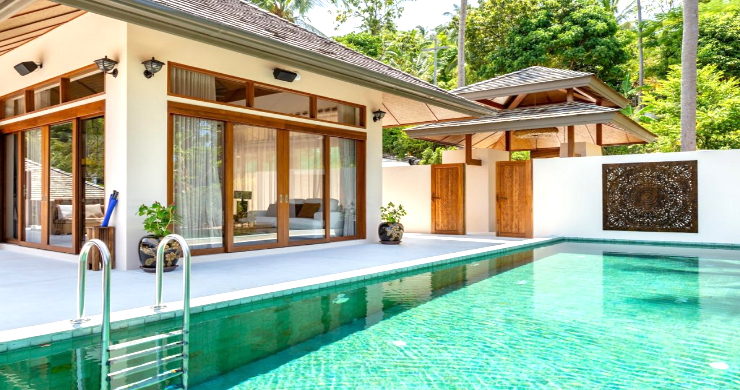 Thai Style 4 Bed Modern Sea View Villa in Haad Salad-16
