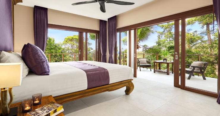 Thai Style 4 Bed Modern Sea View Villa in Haad Salad-14