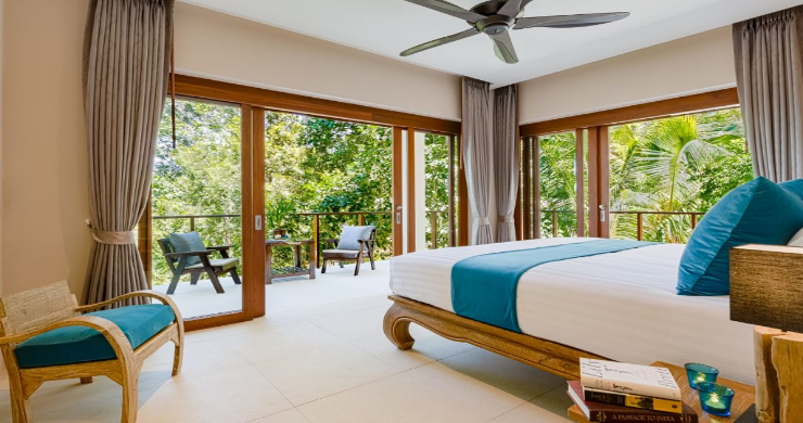 Thai Style 4 Bed Modern Sea View Villa in Haad Salad-13