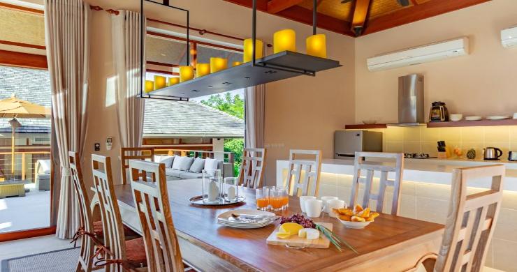 Thai Style 4 Bed Modern Sea View Villa in Haad Salad-8