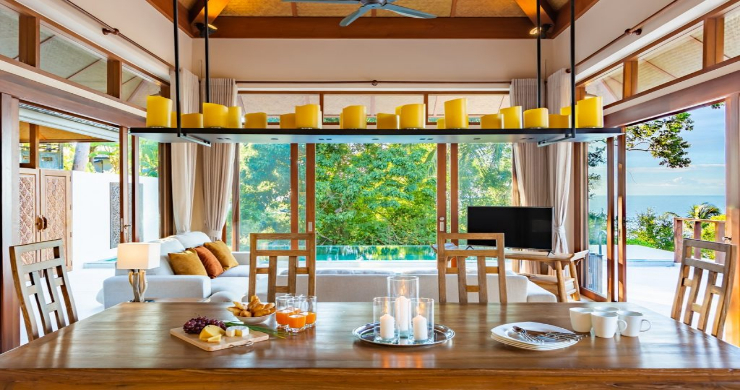 Thai Style 4 Bed Modern Sea View Villa in Haad Salad-7