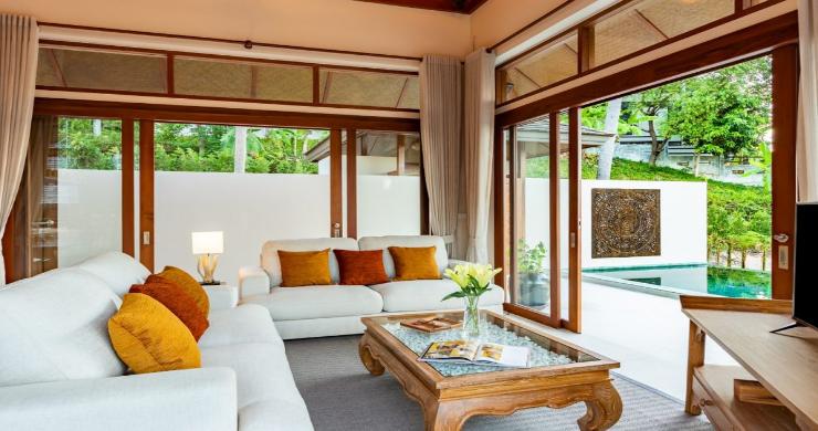 Thai Style 4 Bed Modern Sea View Villa in Haad Salad-5