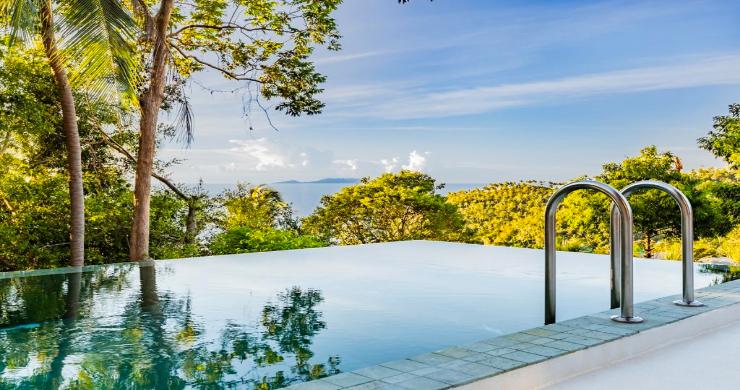 Thai Style 4 Bed Modern Sea View Villa in Haad Salad-17
