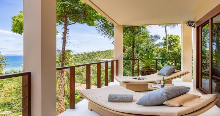 Thai Style 4 Bed Modern Sea View Villa in Haad Salad-3