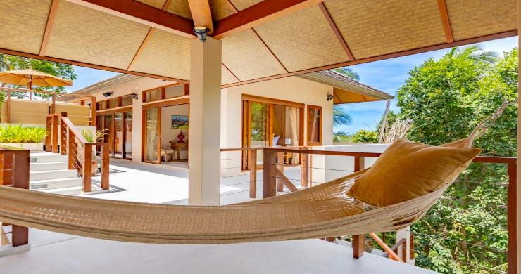 Thai Style 4 Bed Modern Sea View Villa in Haad Salad-2