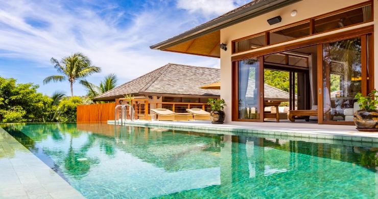 Thai Style 4 Bed Modern Sea View Villa in Haad Salad-4