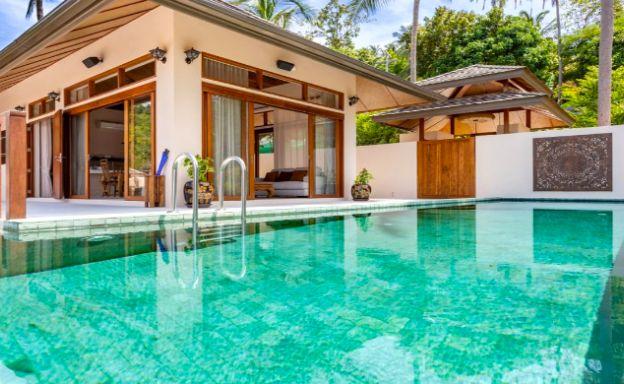 Thai Style 4 Bed Modern Sea View Villa in Haad Salad