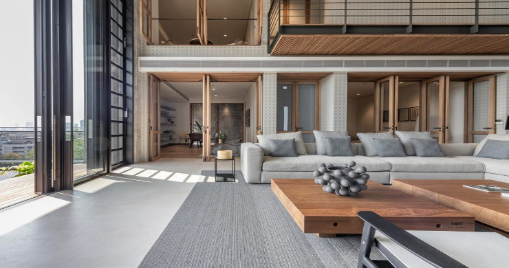 Luxury 4 Bedroom Loft Residence in Bangkok-5