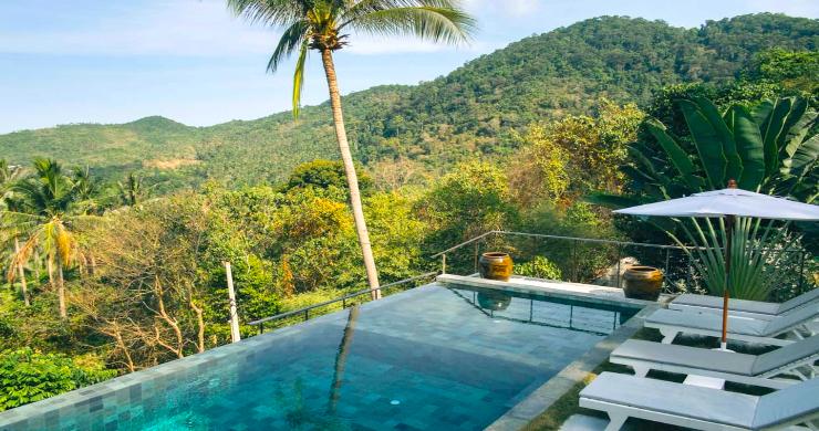 Unique Tropical 4 Bed Sea-view Villa in Koh Phangan-5