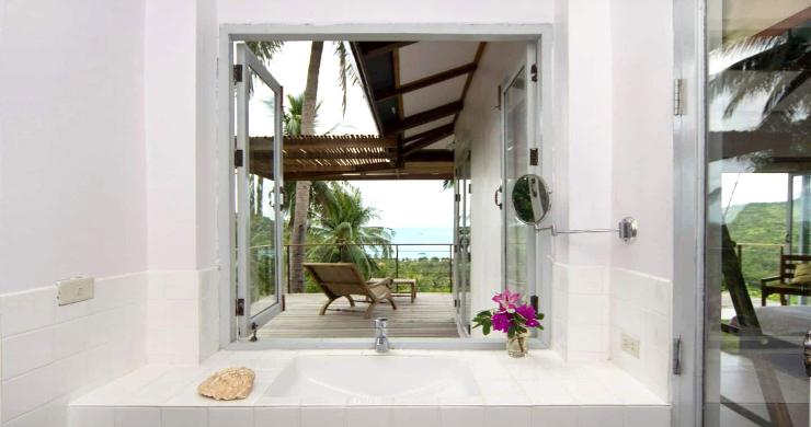 Unique Tropical 4 Bed Sea-view Villa in Koh Phangan-14