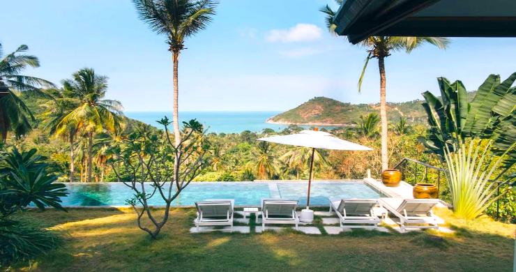 Unique Tropical 4 Bed Sea-view Villa in Koh Phangan-8