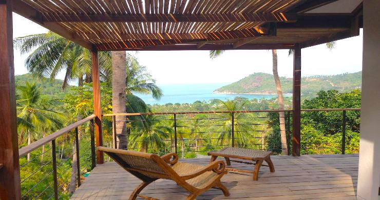 Unique Tropical 4 Bed Sea-view Villa in Koh Phangan-7