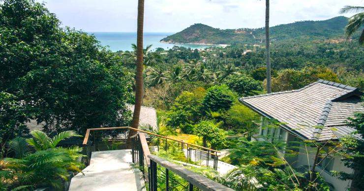 Unique Tropical 4 Bed Sea-view Villa in Koh Phangan-12