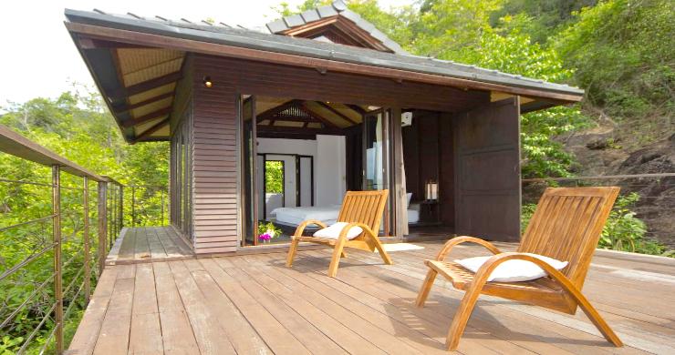 Unique Tropical 4 Bed Sea-view Villa in Koh Phangan-3