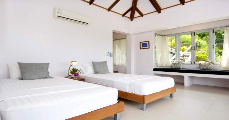 Unique Tropical 4 Bed Sea-view Villa in Koh Phangan-11
