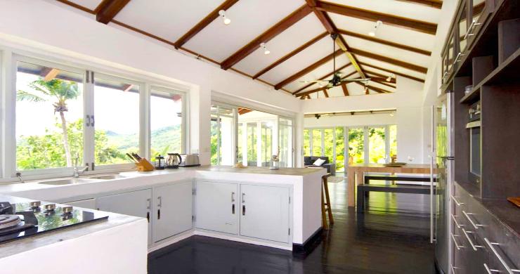 Unique Tropical 4 Bed Sea-view Villa in Koh Phangan-9