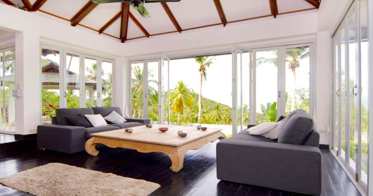 Unique Tropical 4 Bed Sea-view Villa in Koh Phangan-4