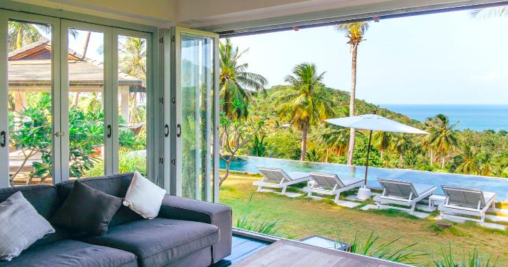 Unique Tropical 4 Bed Sea-view Villa in Koh Phangan-2