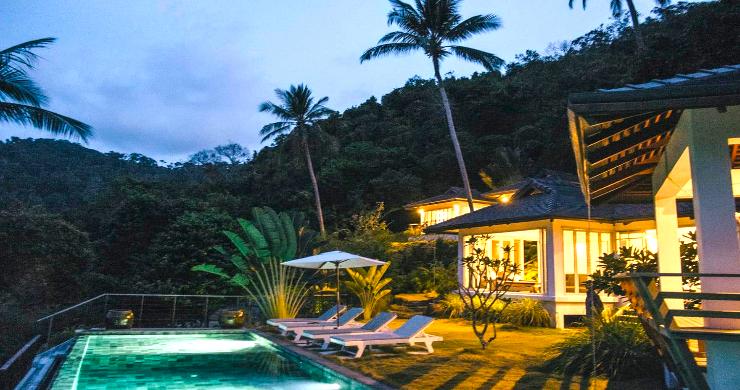 Unique Tropical 4 Bed Sea-view Villa in Koh Phangan-16