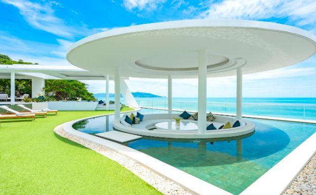 Ultra Luxury 7 Bed Sea View Villa on Plai Laem Bay