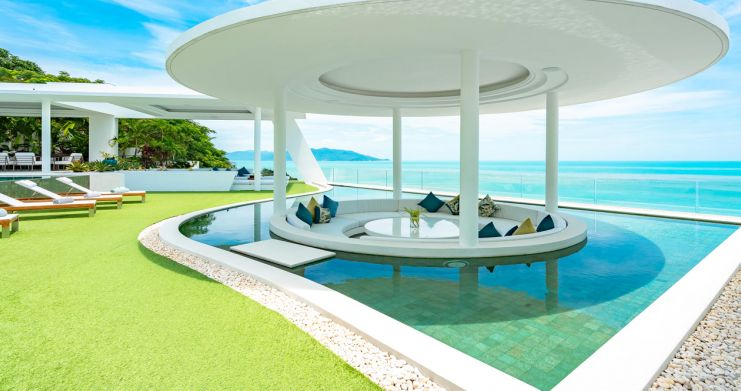 Ultra Luxury 7 Bed Sea View Villa on Plai Laem Bay-16