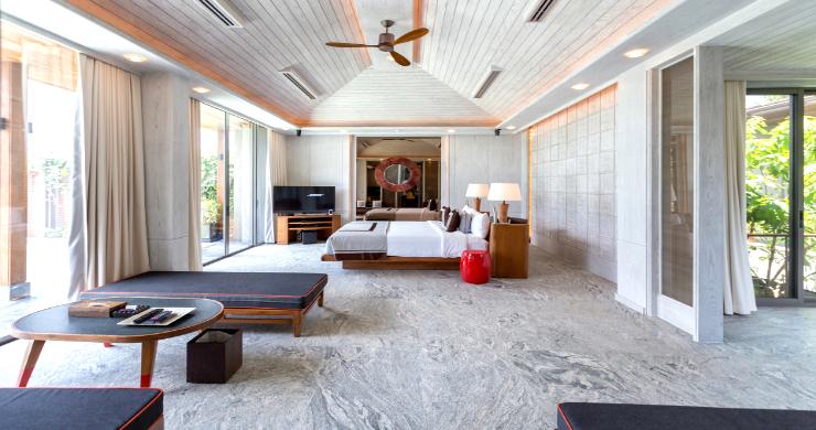 Super Luxury 5 Bed Beachfront Pool Villa in Phuket-7