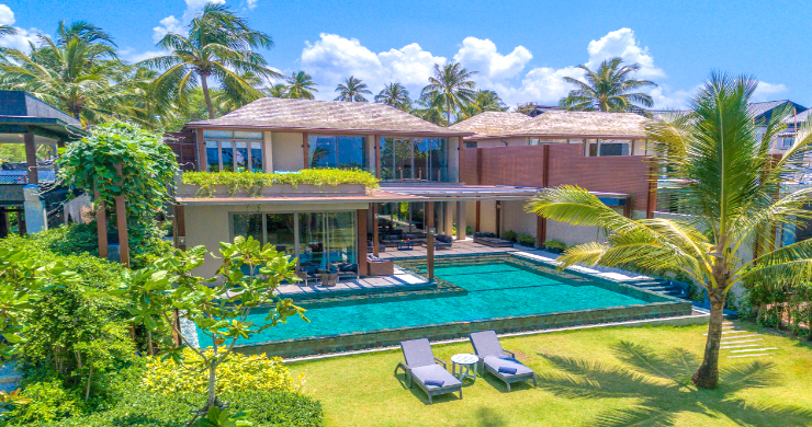 Super Luxury 5 Bed Beachfront Pool Villa in Phuket-2