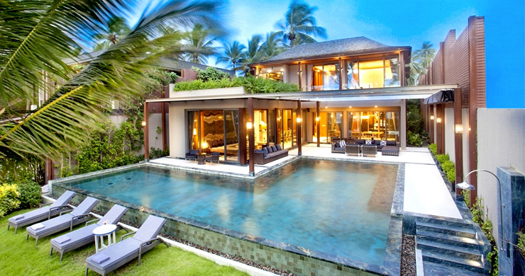 Super Luxury 5 Bed Beachfront Pool Villa in Phuket-1