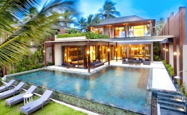 Super Luxury 5 Bed Beachfront Pool Villa in Phuket