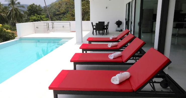 Modern 3 Bedroom Sea View Pool Villa on Chaweng-6
