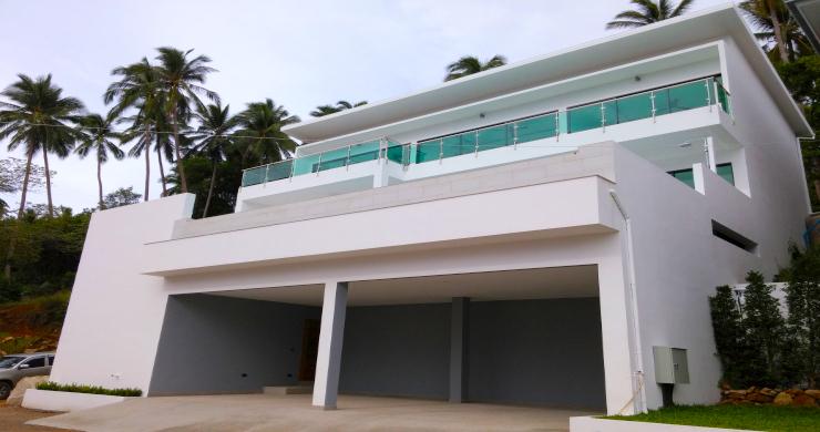Modern 3 Bedroom Sea View Pool Villa on Chaweng-11