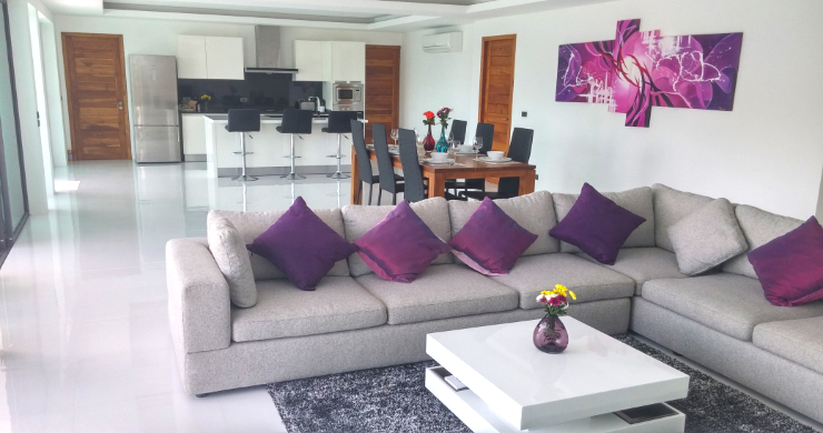 Modern 3 Bedroom Sea View Pool Villa on Chaweng-3