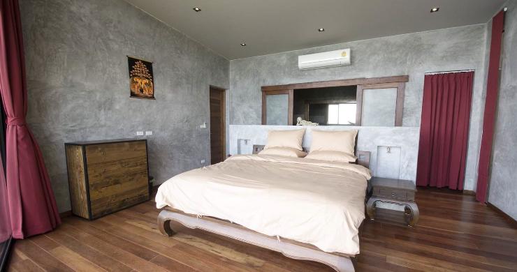 Tropical 3 Bedroom Sea View Villa in Koh Phangan-8
