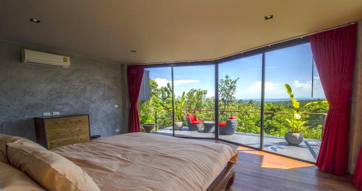 Tropical 3 Bedroom Sea View Villa in Koh Phangan-7