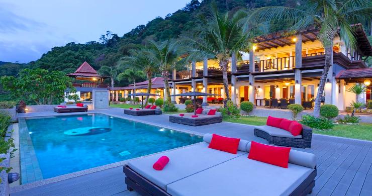 Luxury 8 Bed Tropical Sea View Pool Villa in Phuket-19